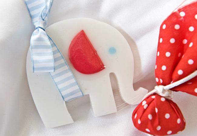 Μπομπονιέρες σαπουνάκια Ελέφαντας