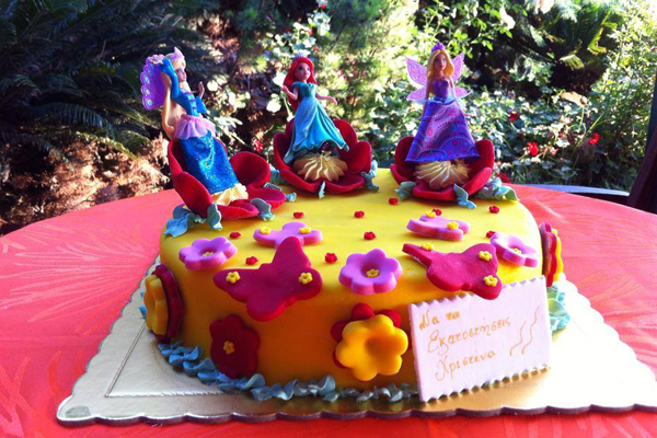 Παιδικά πάρτυ - Η τούρτα της Κατερίνας