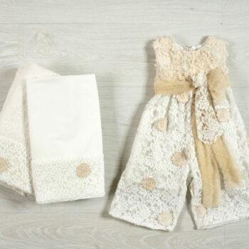 Βαπτιστικά ρούχα για κορίτσια παντελόνα