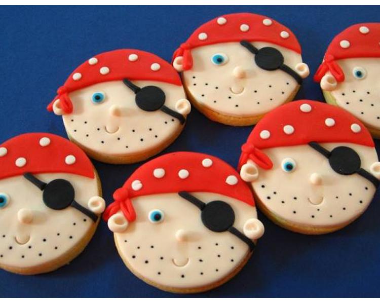 Μπικσκοτάκια με θέμα Πειρατές by Princess Taste Νταιφώτη