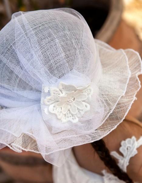 Aξεσουάρ.Καπέλο βάπτισης
