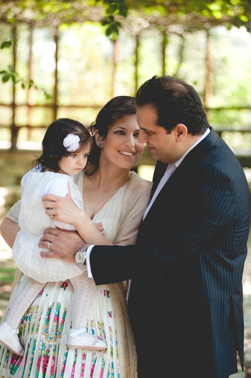 Ρομαντική βάπτιση στην Αθήνα