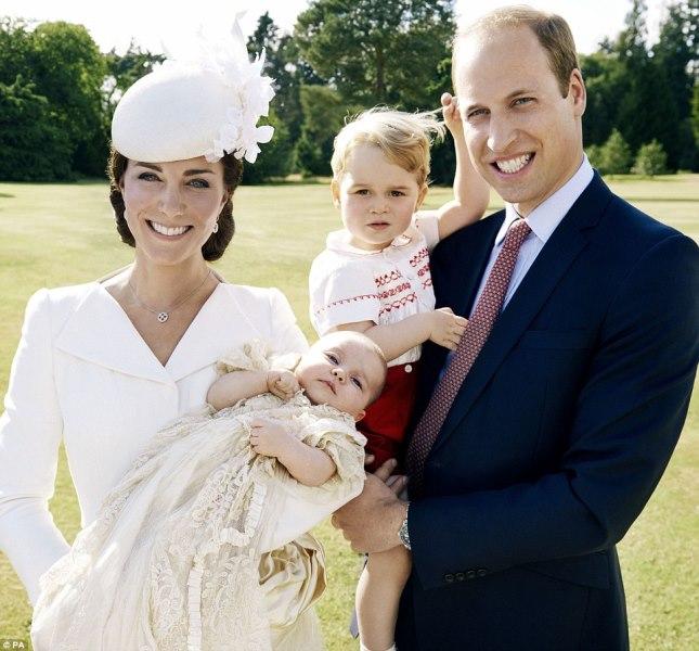 Η βάπτιση της πριγκίπισσας Charlotte