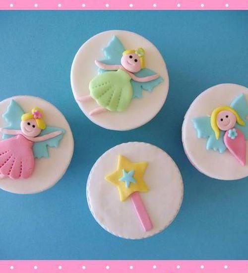 Cupcakes Νεραιδούλες