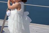 Ασυμμετρο φορεμα βαπτισης