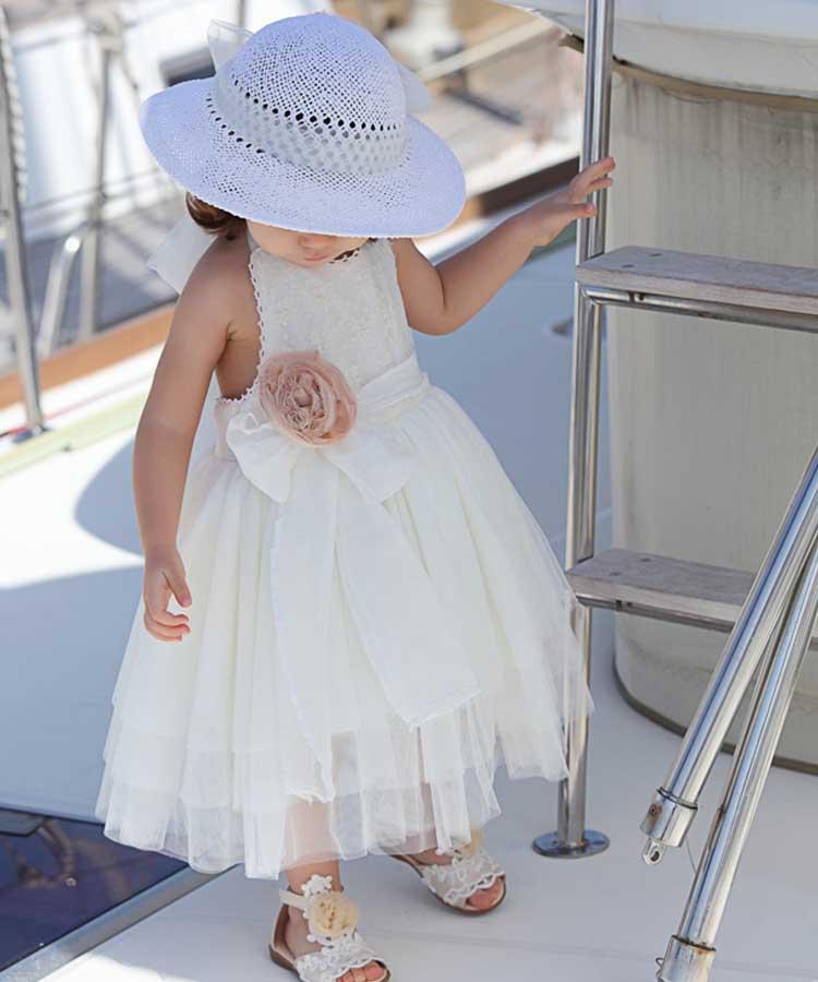φορεμα βαπτιστικο λευκο