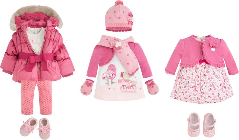 Ροζ αποχρώσεις για νεογέννητα ρούχα