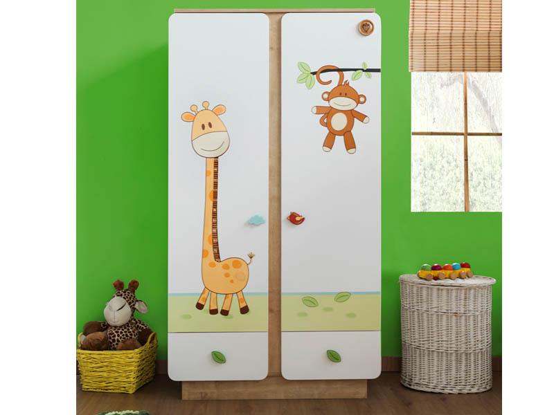 Μικρή ντουλάπα για το βρεφικό παιδικό δωμάτιο
