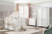 Βρεφικό δωματιο romanticbaby- Vaptisimag