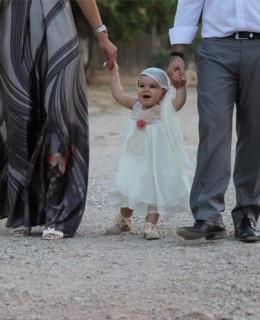 Ρομαντική βάπτιση κοριτσιού, της μικρής μας Αριάδνης