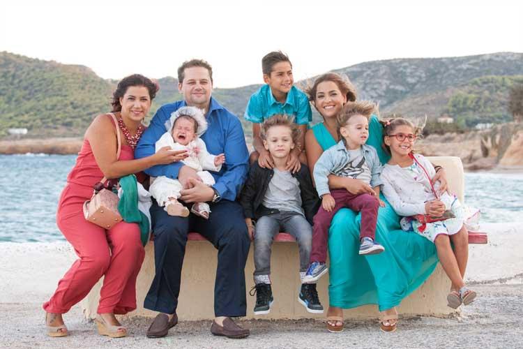 Βαπτιση Family φωτογραφηση