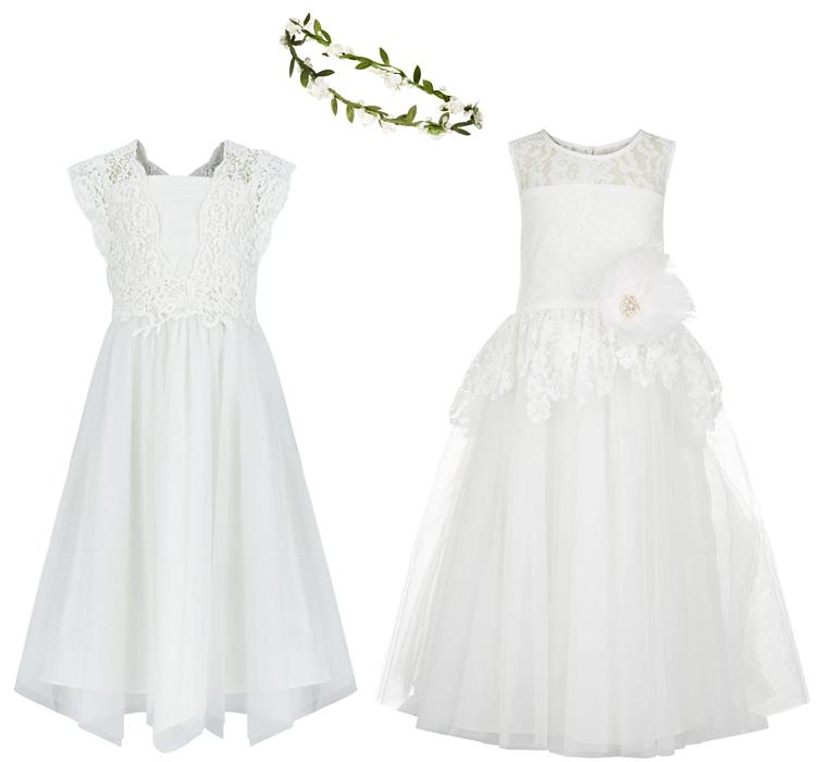 a8a250d5292 Ρομαντικά φορέματα για τα παρανυφάκια - Vaptisimag.gr - Παιδί ...