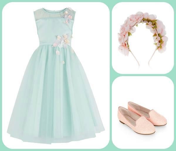 f4c7f22ce059 Ρομαντικά φορέματα για τα παρανυφάκια - Vaptisimag.gr - Παιδί ...