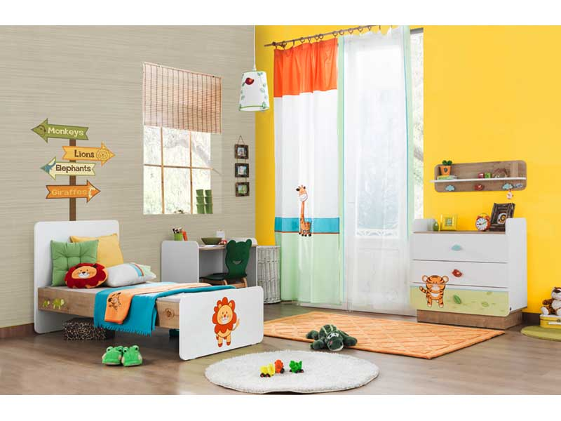 Ολοκληρωμένο βρεφικό και παιδικό δωματιο μαζί