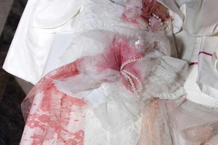 βαπτιστικα ρούχα σε ρομαντικο υφος